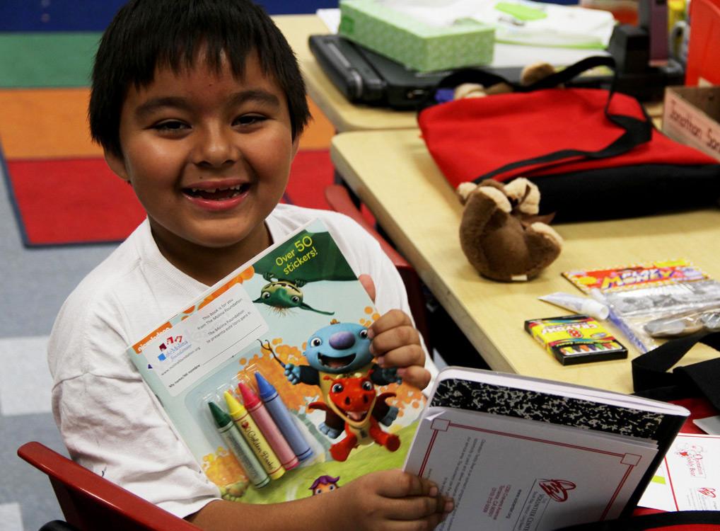 Operation Teddy Bear Boy with Books